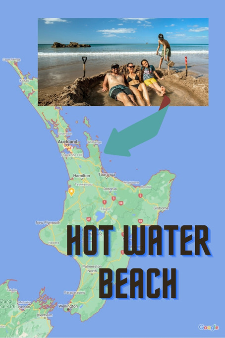 Hot Water Beach New Zealand: A Unique Bathing Experience