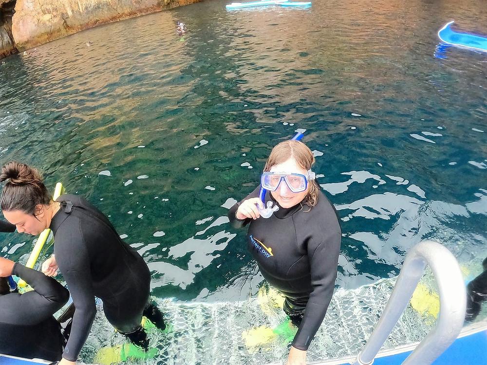 snorkeling Poor Knights