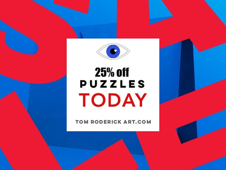 Eye-Catching Puzzles by Tom Roderick Art