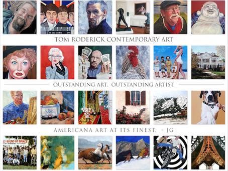 American Artist Tom Roderick