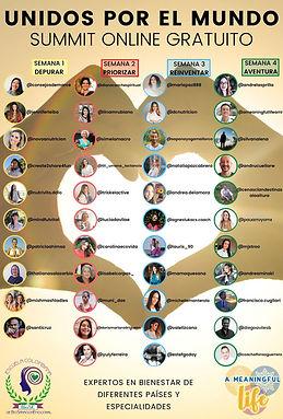 Summit online gratuito Unidos por el mundo
