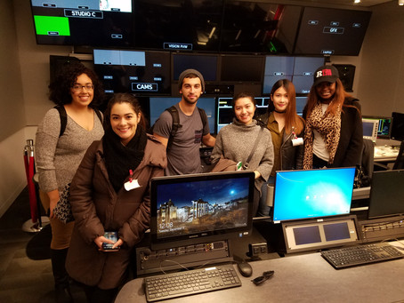 Bennett's students visit YouTube Space NYC