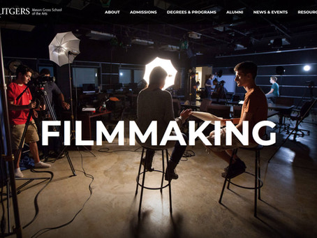 Bennett's production class featured on MGSA Filmmaking Home Page