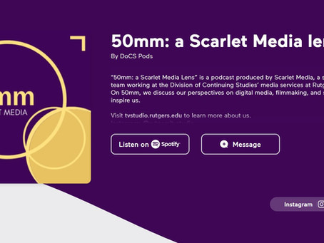 50mm Scarlet Media Podcast - Classes you can't miss!