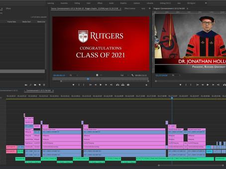 Rutgers 2021 Commencement
