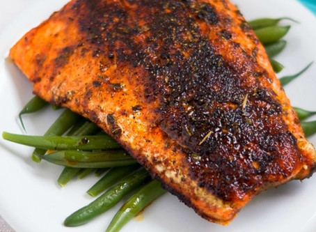 Baked Blackened Salmon