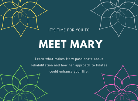 Meet Mary, Founder of The Pilates Workshop