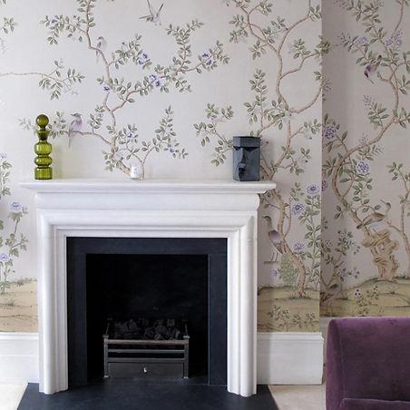 feature wallpaper interior