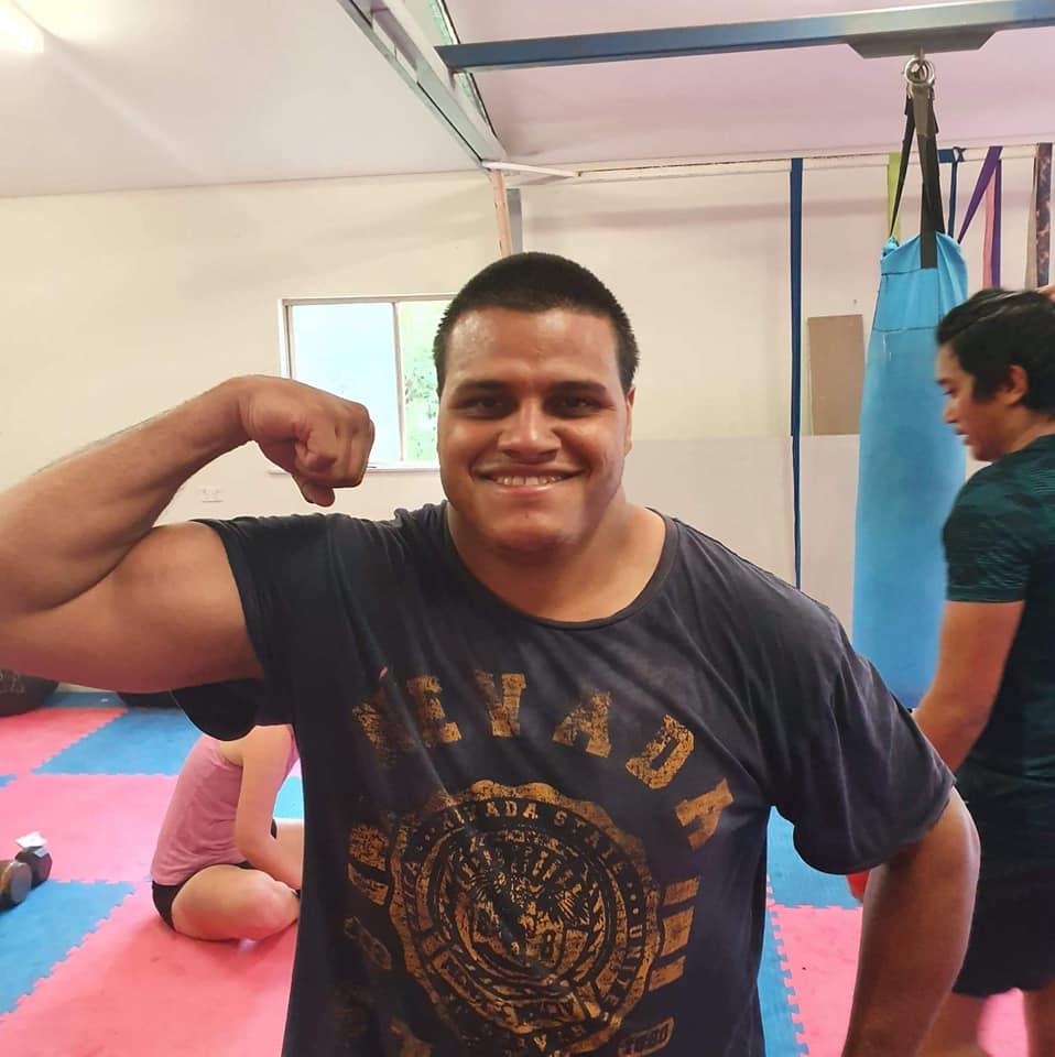 Keenan Pearson training January 2021
