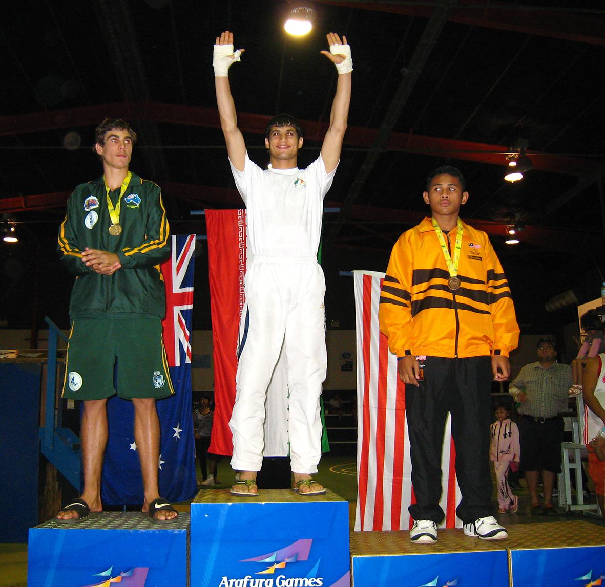Arafura Games, Darwin 2009