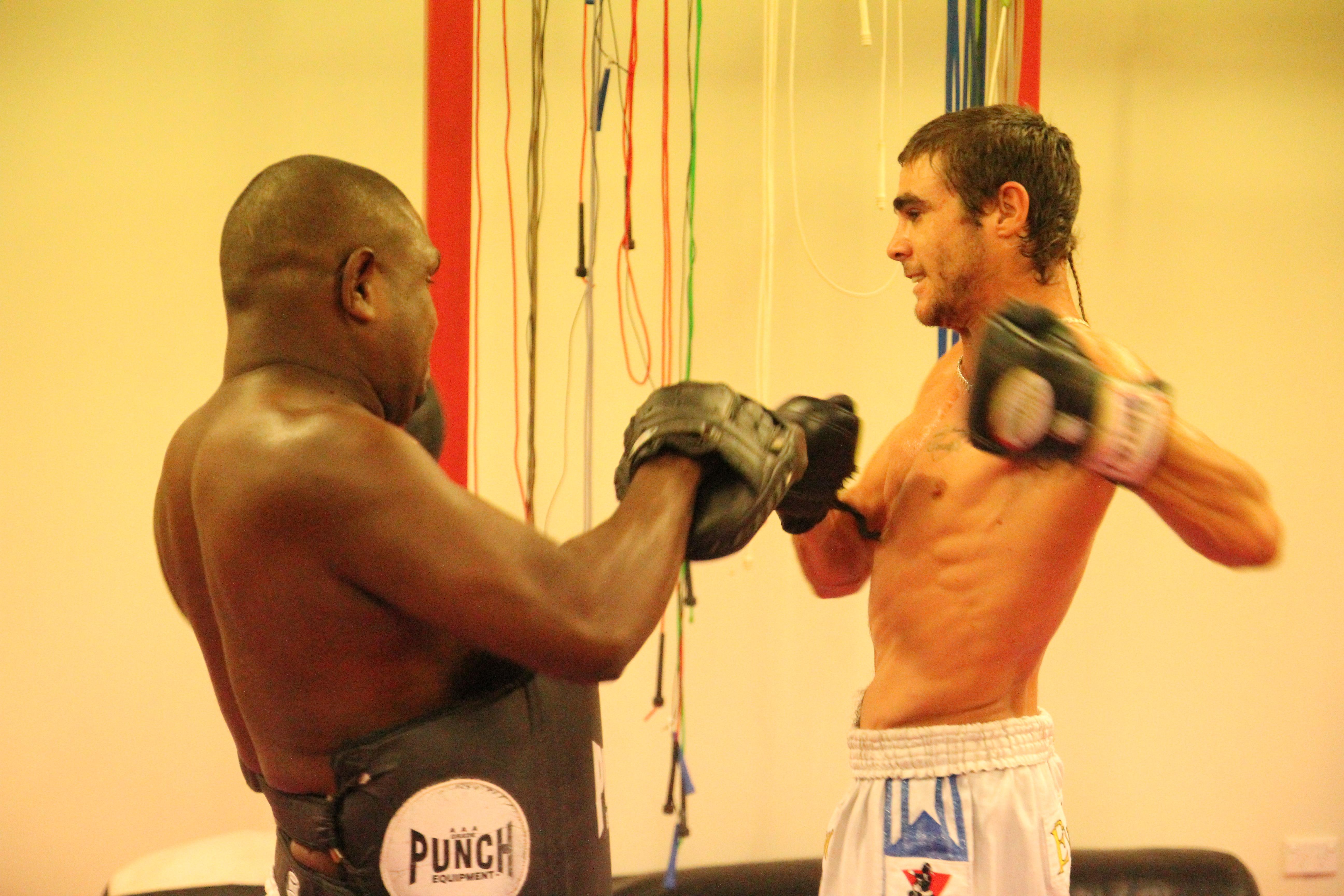 Clayton Cook training