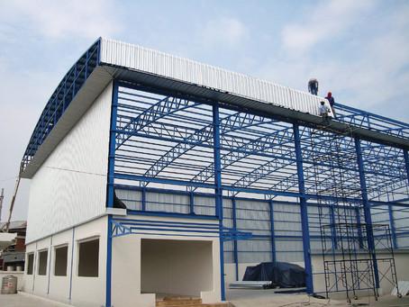 ผลงานติดตั้งเมทัลชีท โครงการบริษัท โซลิด เวอร์ค (ประเทศไทย) จำกัด