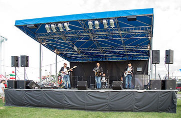 Mobile stage rental in Illinois