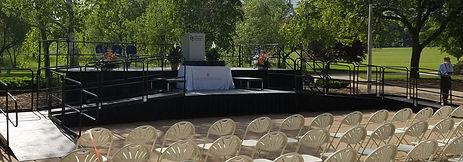 Stage rental in Iowa