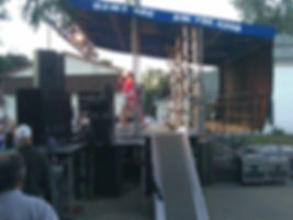 Mobile stage rental in Northern Illinois.