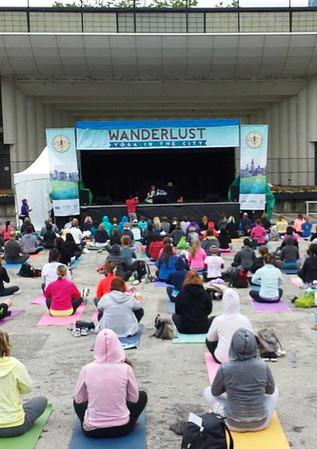 Wanderlust Yoga Festival 2013- Chicago, IL