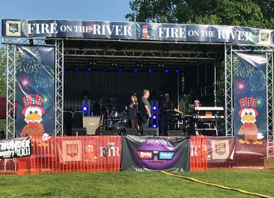 Fire on the River 2019- Sauk Prarie, WI
