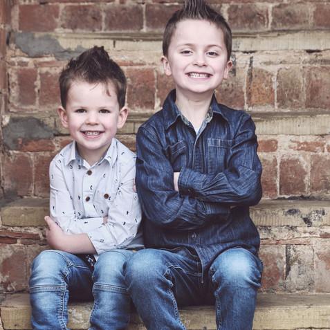 kids outdoors photos
