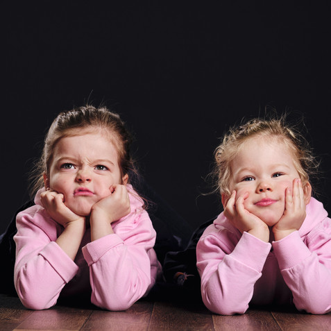 kids studio photoshoot