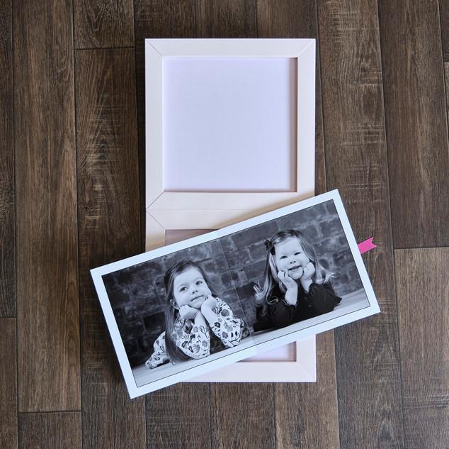 kids portrait album design