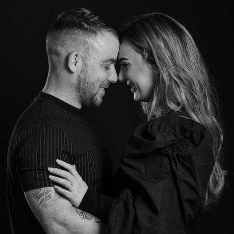 couple studio photos