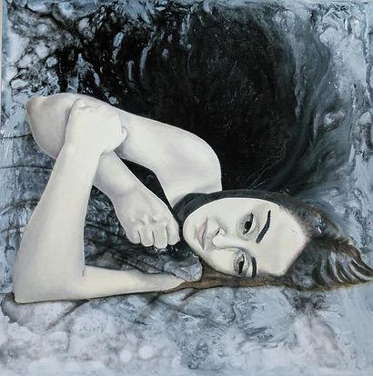 Kübra SERT,Depression, Acrylic and Oil o