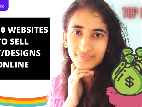 TOP 10 Websites to sell your art/designs