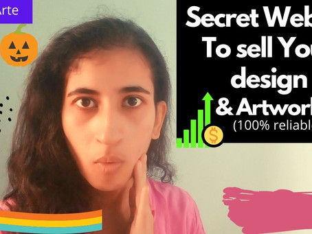 Secret Website to sell your artwork/designs and can earn money online