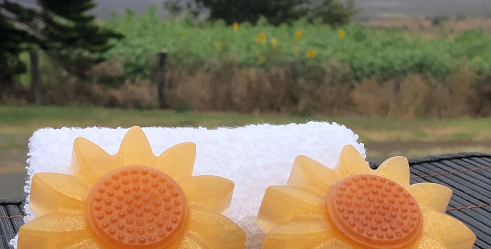 Sunny Sunflower Soap