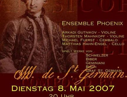 A Count of Measure : The Music of the Count of St. Germain