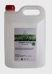 antiseptic hand gel 4 lt big size