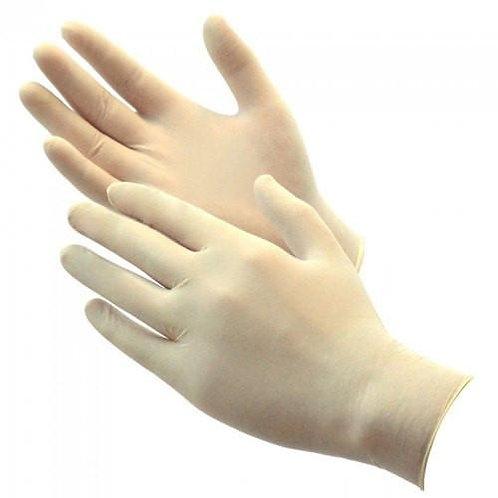 Γάντια latex χωρίς πουδρα κουτι 100 τμχ.