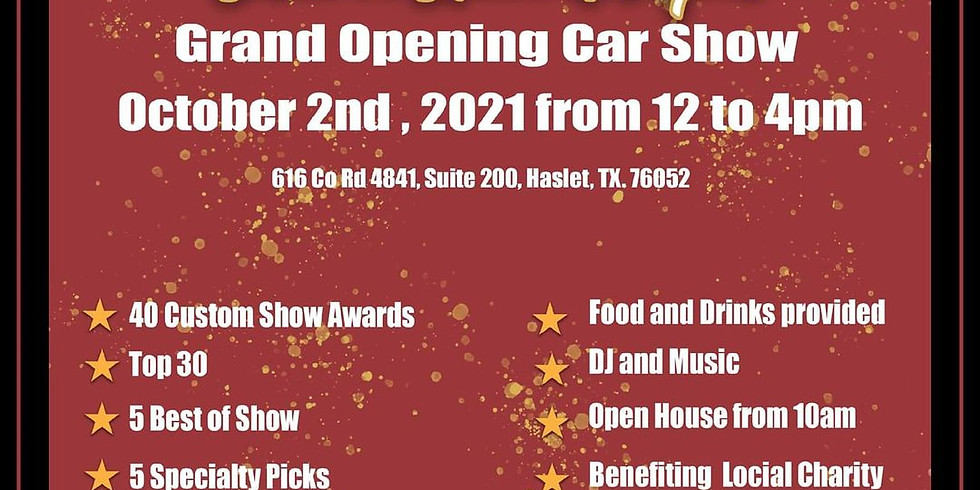 Show & Speed Hot Rods Grand Opening