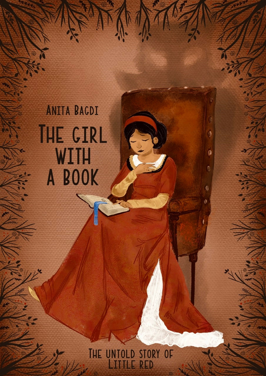 The girl with a book