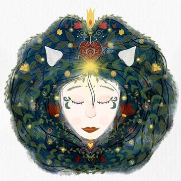 Anita Bagdi Illustration Sustainable Art Prints