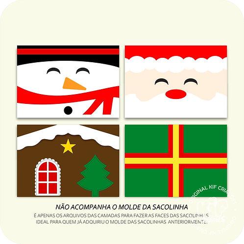Faces Sacolinhas - Natal