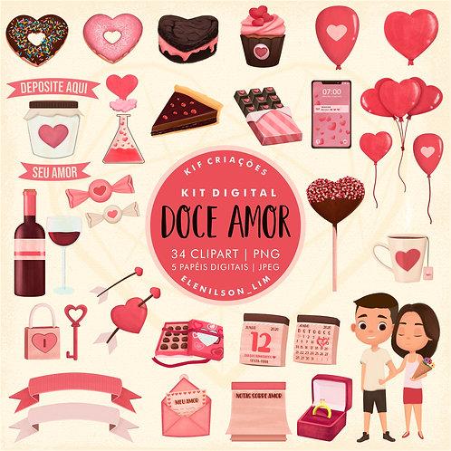 Kit Digital Doce Amor