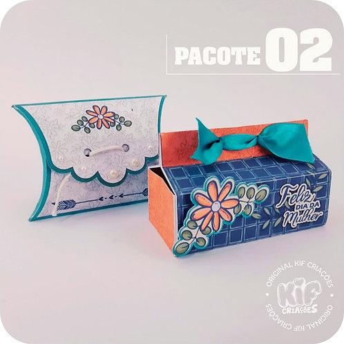 Caixas Cartões - Pacote2