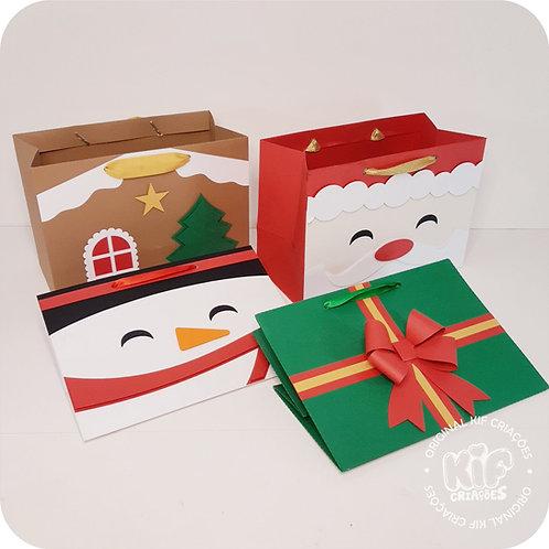 Sacolinhas Pacote 1 - Natal