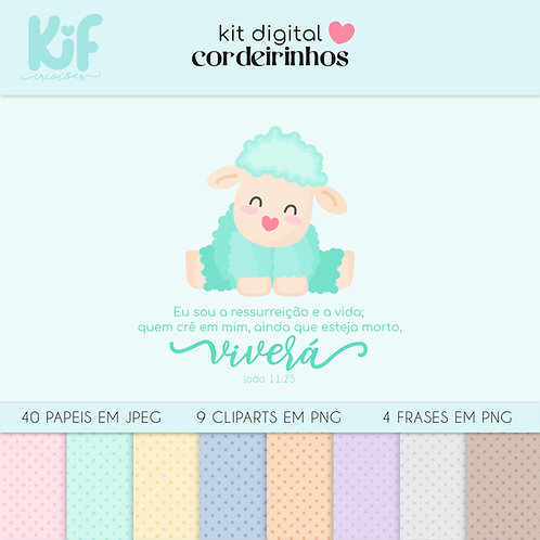 Kit Digital - Cordeirinhos