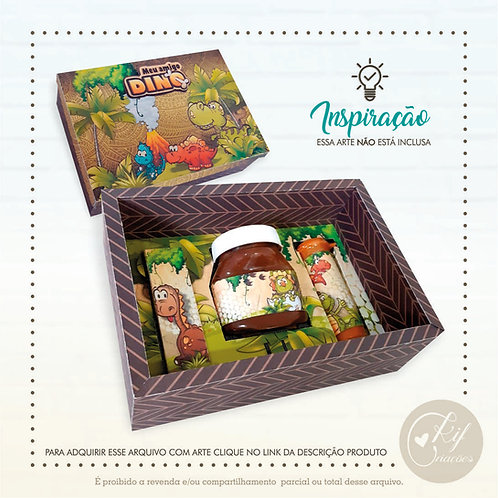 Kit Nutella - Caixa Reforçada