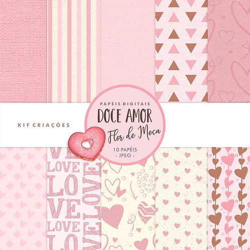 Papéis Doce Amor - Flor de Moça