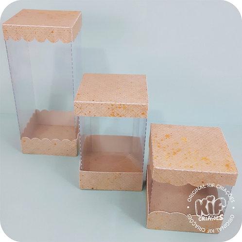 Caixa Cubo - Coleção Cristal