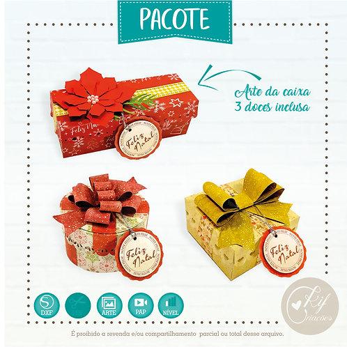Pacote caixa Especial de Natal