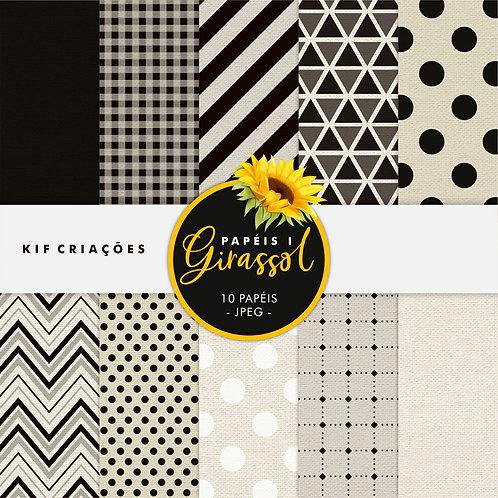 Girassol Kit Papel 01