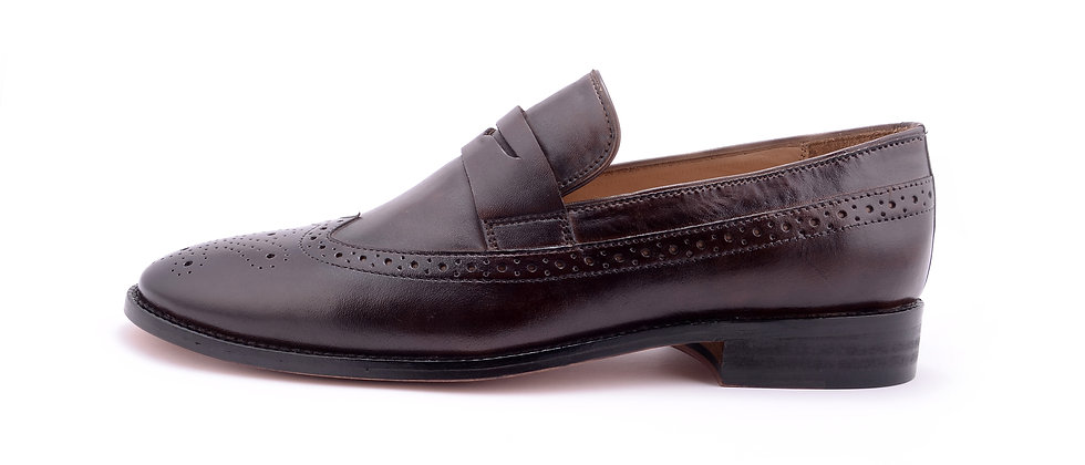 Country Classic leather Burgundy Loafer