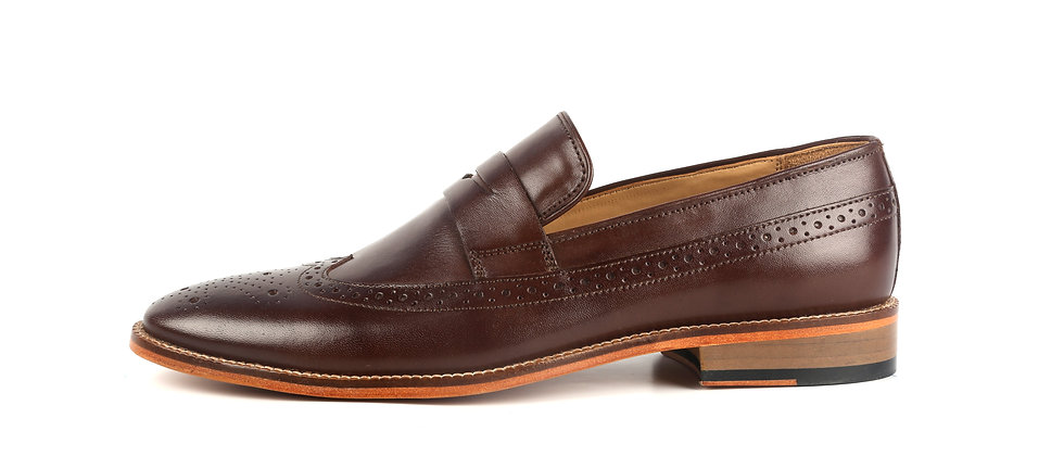 Country Classic leather Brown Loafer