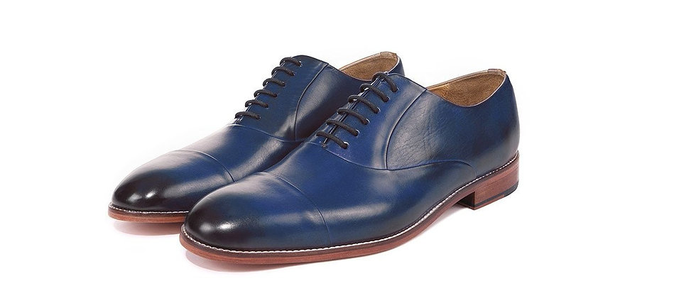 Mingo Toe Cap Blue Oxford