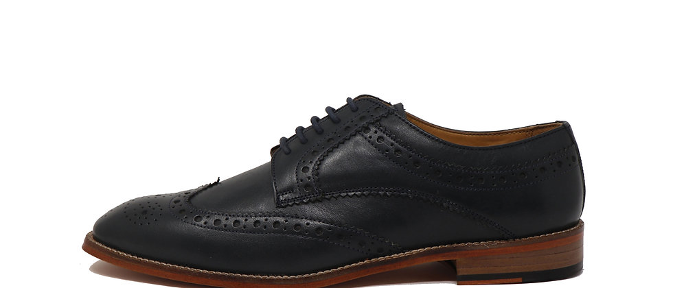 Gerardo Classic Blue Brogue Derby