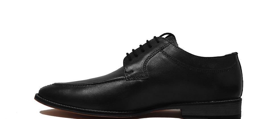 Paulo Black Derby Shoes